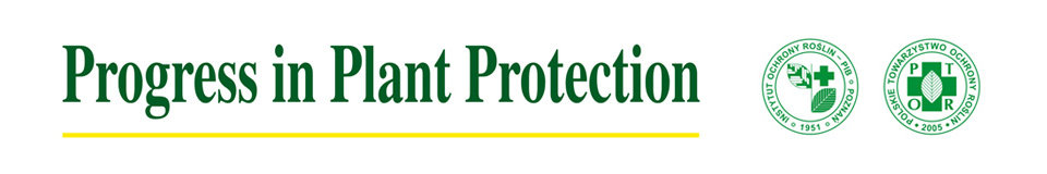 Progress in Plant Protection